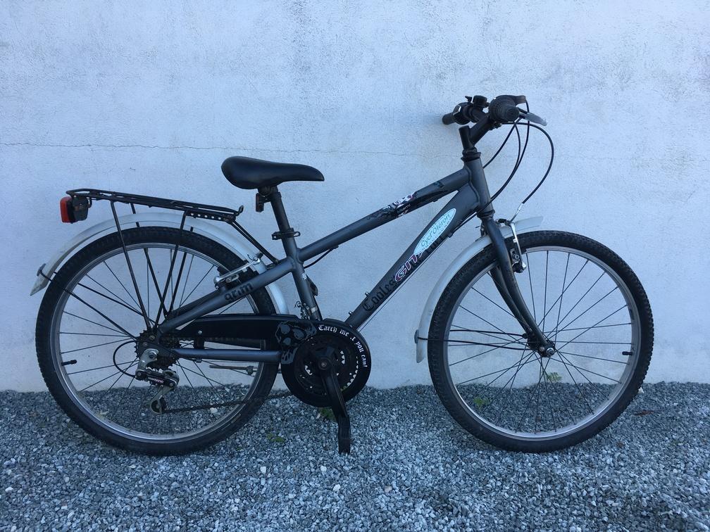 Vélo 24 pouces fille